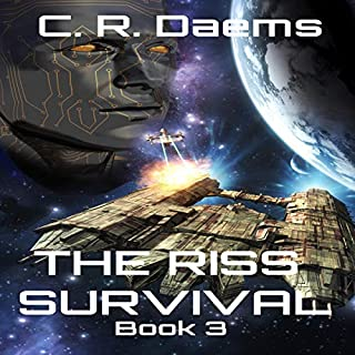 The Riss Survival     Book III in the Riss Series              By:                                                                                                                                 C. R. Daems                               Narrated by:                                                                                                                                 Gabrielle De Cuir                      Length: 9 hrs and 47 mins     19 ratings     Overall 4.8