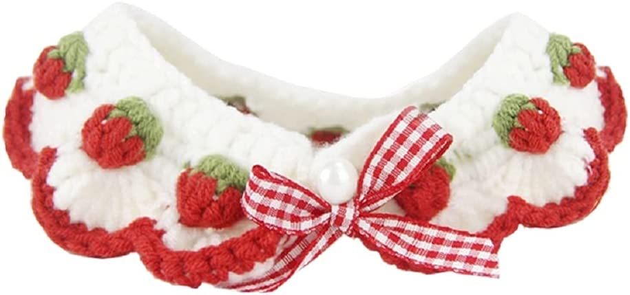 Product Cat Collar Soft Personalised Hand Cute Knitted Detroit Mall Pet