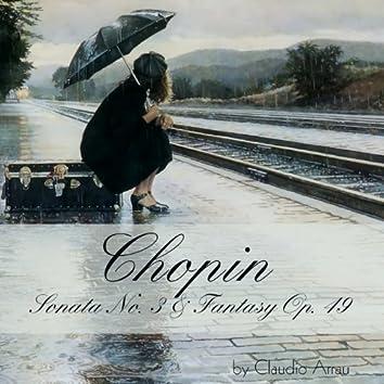 Chopin: Sonata No. 3 & Fantasy, Op. 49
