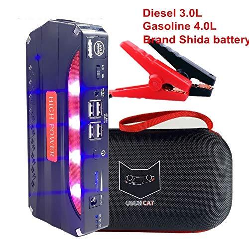 no logo Best Starting Device 600A Car Jump Starter 12V Pack Portable Starter Charger Booster for Power Bank for Petrol/Diesel
