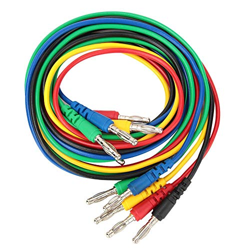 Pasamer p1043 4mm Bananenstecker Testleitung Spritzguss Stecker auf Stecker Multimeter Kabel