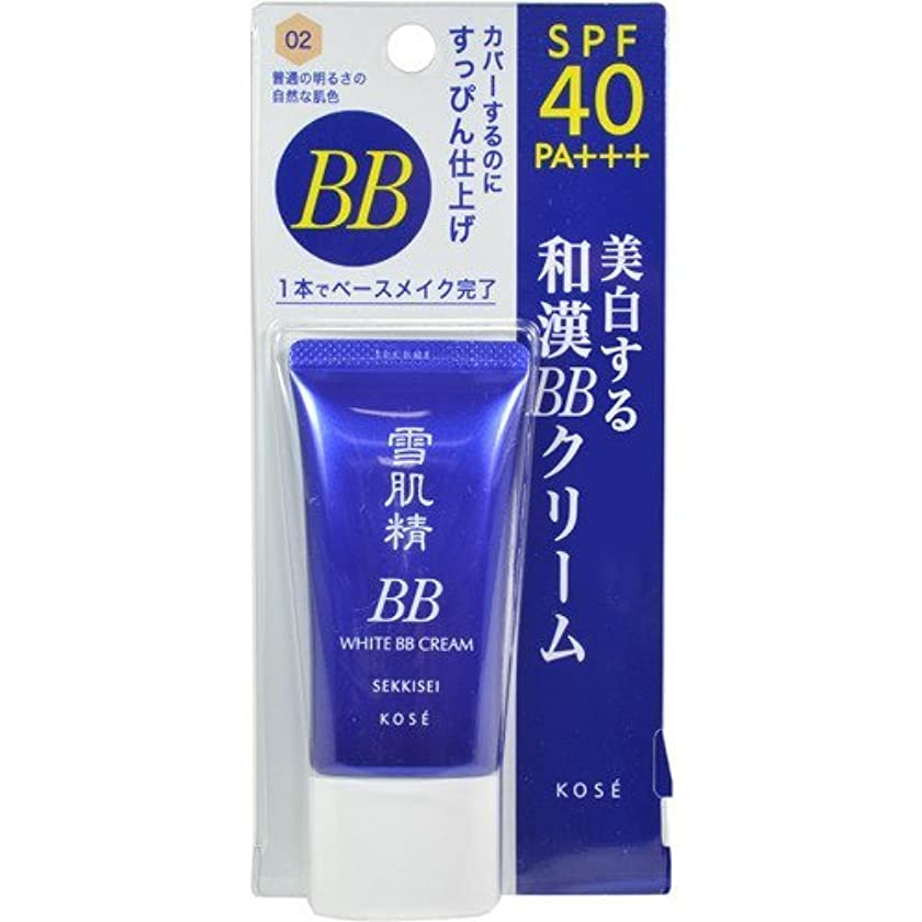 良心食料品店ポケットコーセー 雪肌精 ホワイト BBクリーム 02  30g