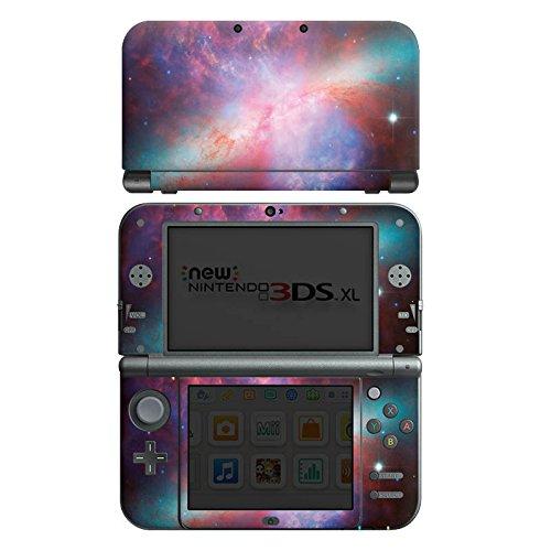 DeinDesign Skin kompatibel mit Nintendo New 3DS XL Folie Sticker Space Galaxie Licht [Video Game]