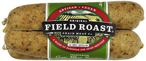 Field Roast, Vegetarian Grain Meat Sausages, Smoked Apple Sage, 12.95 oz (Frozen)