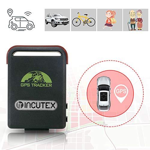 Incutex GPS Tracker TK104 Peilsender Personen und Fahrzeugortung GPS Sender