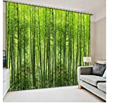 SHANGZHIQIN European Luxury Design Curtain Kitchen 3D Curtains,Bamboo Curtain Modern