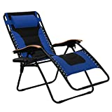 PHI VILLA Oversize XL Padded Zero Gravity Lounge Chair Wider Armrest...