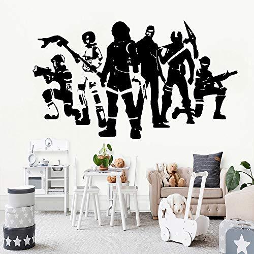 Juego pegatinas de pared dormitorio decoración del hogar habitación de los niños calcomanías de vinilo boy play room pegatinas de pared