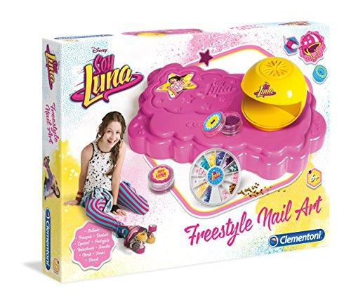 Clementoni 15151.6 Disney Soy Luna - Nagelstudio, girls, Mehrfarbig