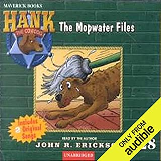 The Mopwater Files audiobook cover art