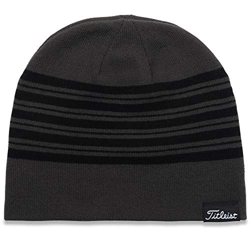 Titleist Men's Standard Beanie, Charcoal/Black, One Size Fits All