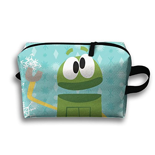 Louis Woodrow Storybots Christmas Storage Bag,Cosmetic Bags,Sewing Kit,Emergency Preparedness Kit,Outdoor Travel First Aid Kit Pack Organizer Bag,Travel Makeup