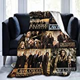 Law and Order SVU Novelty Blanket Novelty Blanket Flannel Throw Blankets Luxury Ultra-Soft Micro Fleece Blanket for Bed Couch Sofa Blanket