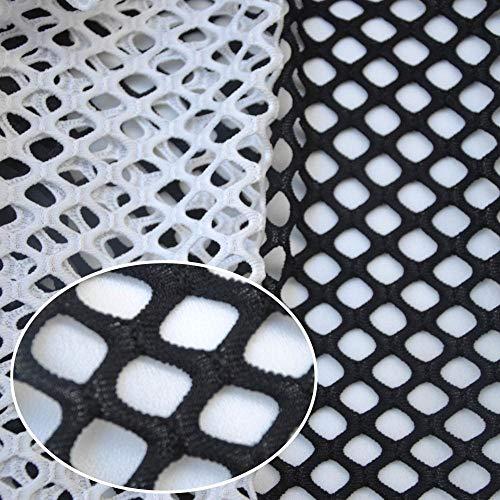 Gratis verzending grote mesh kleding kant stoffen/transparante diamant mesh/helderziende outfit Hoed voering 1Yard RS684, groen
