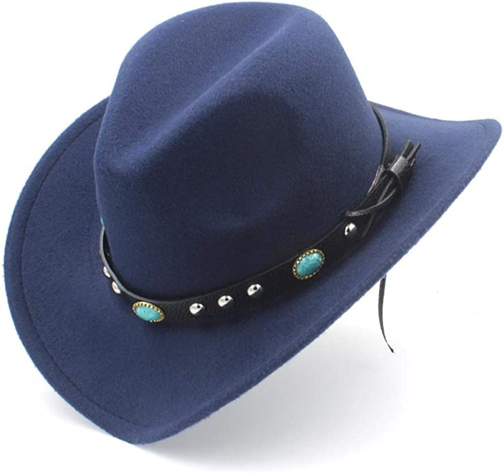 MUMUWU Vintage Fedora Hat Women's Men's Wool Felt Unisex Western Cowboy Hat for Wide-Brimmed Cowgirl Calette Scorpion