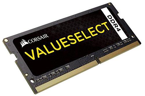 Corsair CMSO4GX4M1A2133C15 4 GB DDR4 2133 MHz SODIMM Memory Module, Black