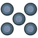 Sizzix Set de Troqueles Thinlits 25 pzas 664437, Azulejos apilados, Círculos de Tim Holtz, Multicolor, Talla única