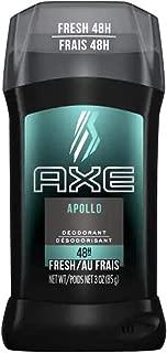 Axe Fresh Deodorant Stick, Apollo 3 oz (Pack of 3)