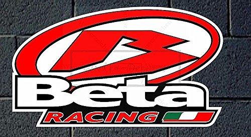 60cm! Aufkleber-Folie Wetterfest Made IN Germany kompatibel für: BETA Racing Bke272 UV&Waschanlagenfest Auto-Vinyl-Sticker Decal ProfiQualitätToilettendeckel