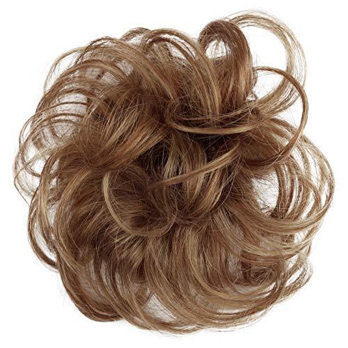 PRETTYSHOP 100% pelo real, cabello humano, coletero, postizo, hairpiece, concentración de...