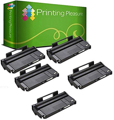 Compatible Cartucho de tóner para Ricoh SP-100 SP-100e SP-100SF SP-100SFe SP-100SU SP-100SUe SP-112 SP-112e SP-112SF SP-112SFe SP-112SU SP-112SUe - Negro, Alta Capacidad (1.200 Páginas)