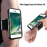 SPORTLINK Run Kit für iPhone 7, Handy Sportarmband iPhone 8 mit Verstellbarer Riemen,...