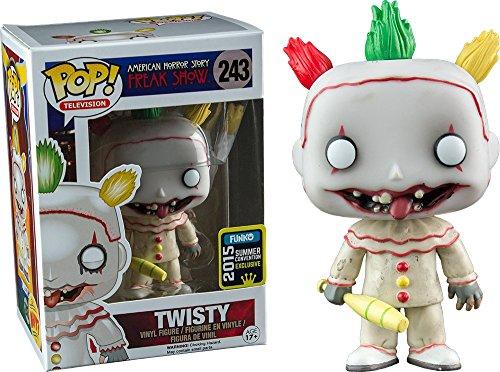 Funko POP TV: American Horror historia- Temporada 4 - Twisty EL PAYASO Figura De Vinilo 2015 Verano Convención Exclusivo