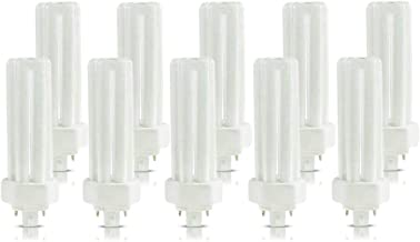 (10 Pack) PLT-26W 841 4 Pin GX24q-3 26 Watt Triple Tube Compact Fluorescent Light Bulb