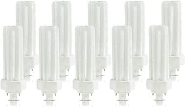 (10 Pack) PLT-26W 841, 4 Pin GX24q-3, 26 Watt Triple Tube, Compact Fluorescent Light Bulb