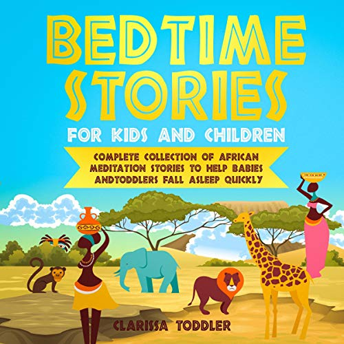 Bedtime Stories for Kids and Children audiobook cover art