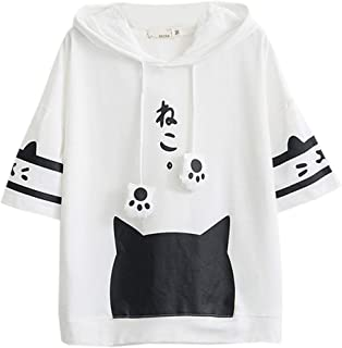 Namnoi Women's Summer Patchwork Pastel Tops Tees Pocket Design Candy Color Shirt Tops