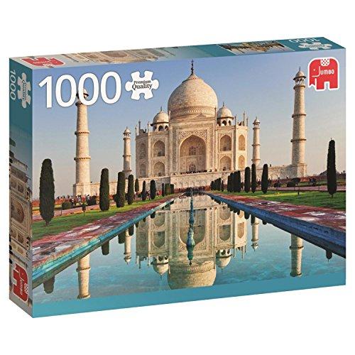 Jumbo 618545 - Puzzle de 1000 piezas, Taj Mahal - India