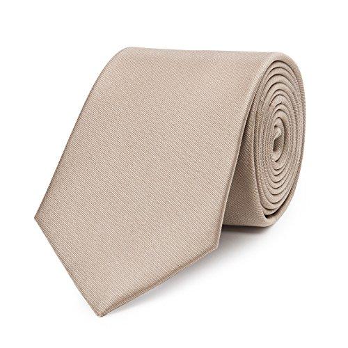 Bruce Field - Cravate pure soie lisse
