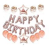 KOMUS Juego de globos, varios colores metálicos, 100% látex natural, globos de helio, para cumpleaños, bodas, fiestas de bebé, decoración, actividades comerciales, globos de cumpleaños