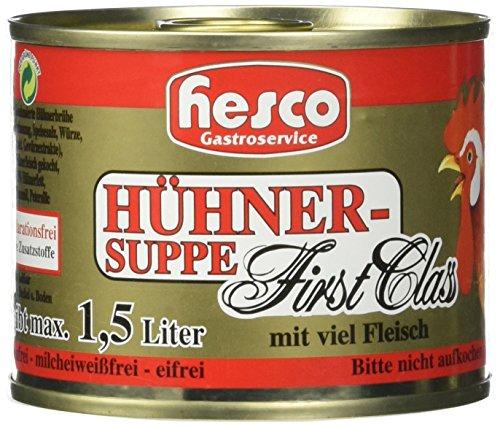 Hühnersuppe konzentriert, 5er Pack (5 x 212 ml)