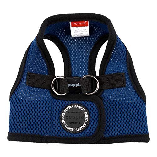 PUPPIA International Puppia Harness Soft B Vest Royal Blue Large