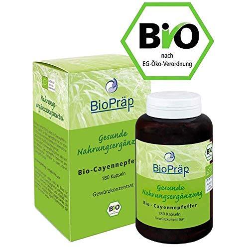 BioPräp BIO cayenne peper capsules 180St.