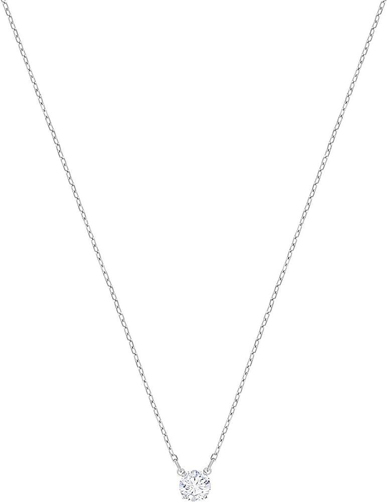 Swarovski collana placcatura rodio 5408442