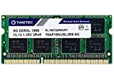 Timetec Hynix IC 8GB DDR3L 1866MHz PC3-14900 Unbuffered Non-ECC 1.35V CL13 2Rx8 Dual Rank 204 Pin SODIMM Memory RAM Module Upgrade (8GB)