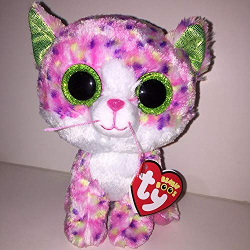 Labomba Ty Beanie Boos 6 Quot 15cm Sophie Pink Polka Dot Cat Plush Regular Soft Stuffed Animal Collectible - Ultimate Patrol Boom Zinger Sketch Easter Wings Panda Turtle Blue Lion