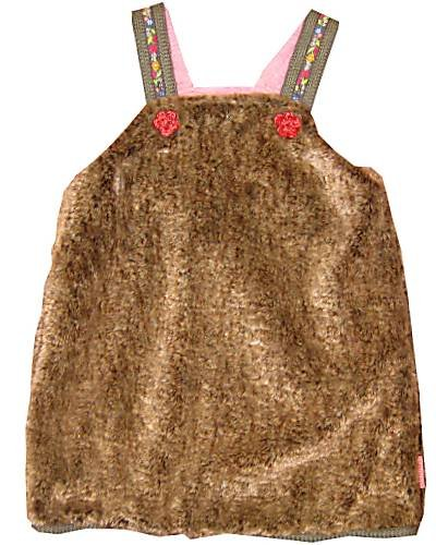 Oilily - Vestido - para bebé niña marrón 92 cm