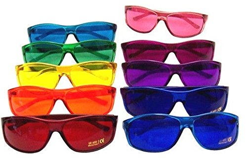 Find Discount Color Therapy Pro Chakra Complete Set of 10 Glasses
