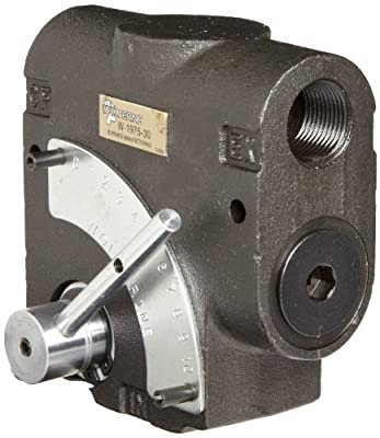 "Prince W-1975-30 Wolverine Adjustible Flow Control Valve, 30 gpm Max Flow, 3/4"" NPTF by Prince Manufacturing"