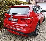 Recambo CT-LKS-1020 Protección para el Borde de Carga de Acero Inoxidable Cromado para BMW X3 F25, años de fabricación 2010 – 2017, Large