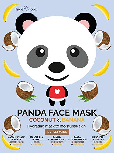 7th Heaven Face Food Panda Face Sheet Mask Coconut and Banana Hydrating Mask To Moisturize Skin 0.021 kg