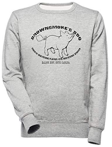 Brownsmoke's BBQ - Bbq Unisex Mannen Dames Trui Sweatshirt Unisex Men's Women's Jumper