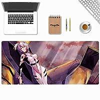 ゲームマウスパッド、新世紀エヴァンゲリオンEVAアニメゲームキーボードパッド、カフェマウスパッド、電子競技専用マウスパッド、高級感マウスパッド、800 * 300 * 3MM / 900 * 400 * 3MM-イメージC_800*300*3mm