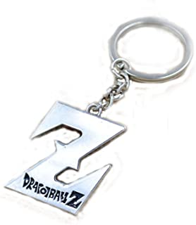 New Anime Dragon Ball Z Silver Keychain Cosplay Accessories (# 2)
