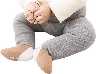 Winter Kid Baby Girl Boy Warm Thick Velvet Tights Knit Legging Pants