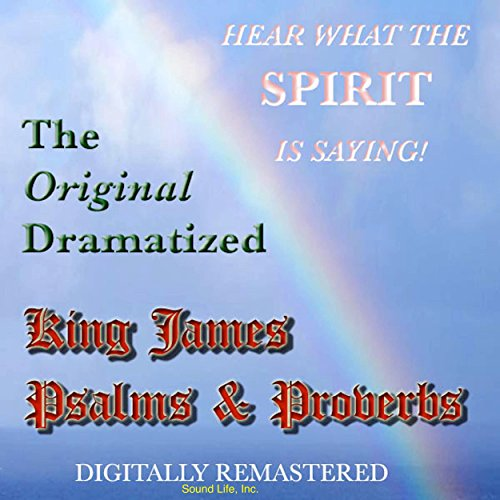The Original Dramatized King James Psalms & Proverbs audiobook cover art